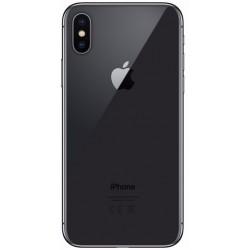 iPhone X d'Apple. Vue de dos couleur gris sidéral
