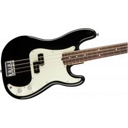 Zoom guitare basse électrique Fender professional precision. Vue rapprochée sur la caisse