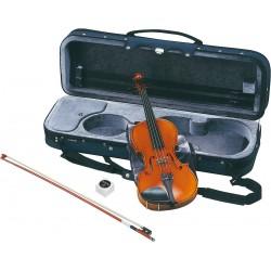 Pack violon acoustique Yamaha 3/4. Étui pour l'instrument, archet et colophane