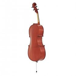 Violoncelle yamaha 4/4. Vue trois quart de dos