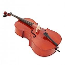 Violoncelle yamaha 4/4. Vue trois quart de face