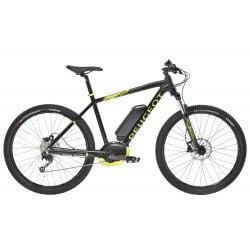 Vélo électrique PEUGEOT Em02 27,5 Deore 9 de couleur Noir et jaune - 400Wh