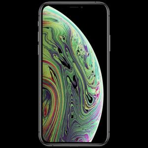 iphone xs noir neuf vue de face