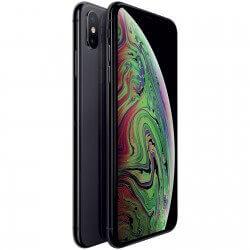iphone xs noir neuf vue de face et de dos