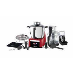 Robot cuiseur Magimix Cook expert. Couleur rouge. Pack et ustensiles fournis.