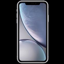 Smartphone Apple. iPhone Xr de couleur noir, vue de face.