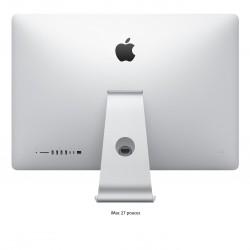 Ordinateur fixe Apple iMac 21.5 pouces. Couleur Gris. Vue de dos.