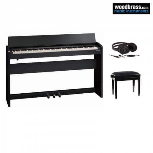 Pack piano numérique Roland, tabouret et casque audio