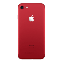 iphone 7 rouge reconditionné vue de dos
