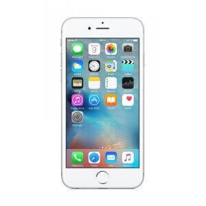 iPhone 6S Plus argent reconditionné vue de face