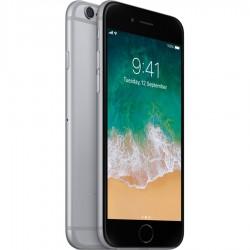 iPhone 6 gris sidéral reconditionné vue de face profil