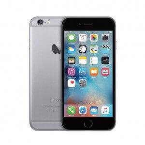 iPhone 6 gris sidéral reconditionné vue de face et de dos
