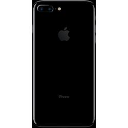 iPhone 7 Plus Noir de Jais Dos