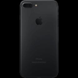 iPhone 7 Plus Noir Dos