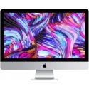 Ordinateur fixe Apple iMac 21.5 pouces. Couleur Gris. Vue de face, fond d'écran.