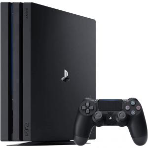 Pack PlayStation 4 Pro de Sony avec 1 manette sans fil  vue de profil