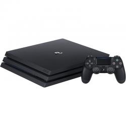 Pack PlayStation 4 Pro de Sony avec 1 manette sans fil  vue à plat