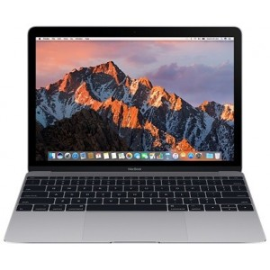 "Apple MacBook 12"" 256 Go SSD 8 Go RAM Intel Core m3 bicœur à 1.2 GHz Gris sidéral Nouveau"