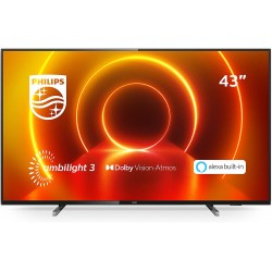 "PHILIPS TV Smart TV 4k UHD LED 43"" - 43PUS7805 en location"