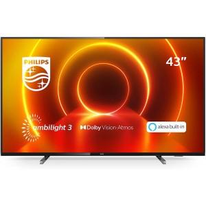 "PHILIPS TV Smart TV 4k UHD LED 43"" - 43PUS7805 en location"