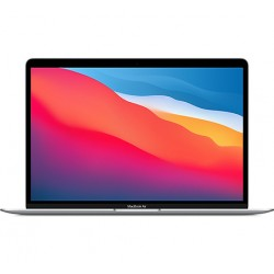 "APPLE MacBook Air 2020 Argent 13"" Puce Apple M1 CPU 8 cœurs GPU 7 cœurs en location pas cher avec Uz""it"