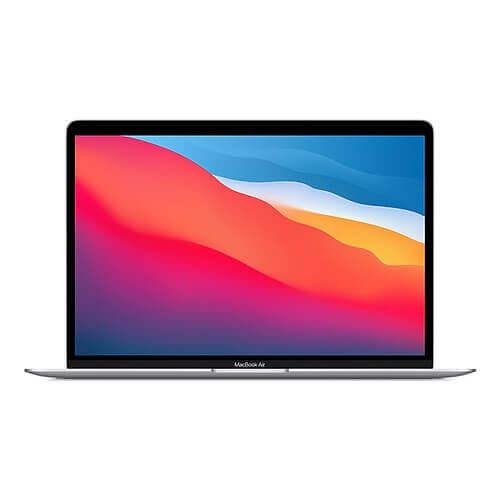 """APPLE MacBook Air 2020 Argent 13"""" Puce Apple M1 CPU 8 cœurs GPU 7 cœurs en location pas cher avec Uz""""it"""