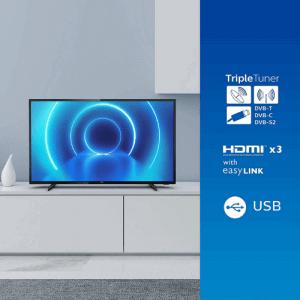 PHILIPS TV 4K LED 126cm - 50PUS7505 en location pas cher avec Uz'it