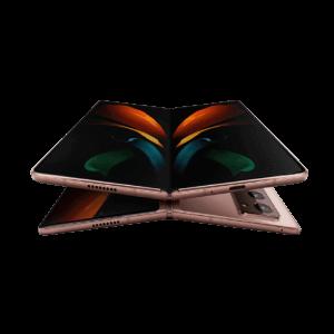 Smartphone SAMSUNG Galaxy Z Fold 5G en location pas cher Mystic Bronze