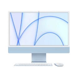 "iMac Puce M1 GPU 7 Coeurs 24"" - 256Go en location avec UZ'it !"