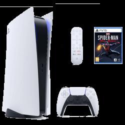 Location Pack PS5 + manette + telecomande + jeux spiderman pas cher en location !