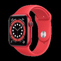 APPLE Watch S6 boîtier en Aluminium Rouge bracelet Sport Rouge